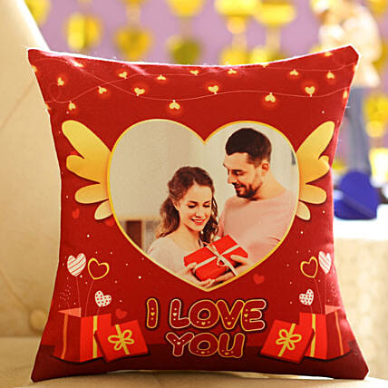 Cute Personalised Cushion for Your Sweetheart