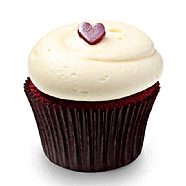 Cute Red Velvet cupcake 6