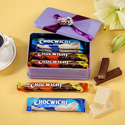 chocolates in tin box online