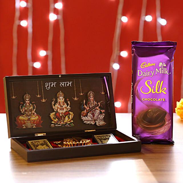Diwali Pooja Box & Chocolate Online