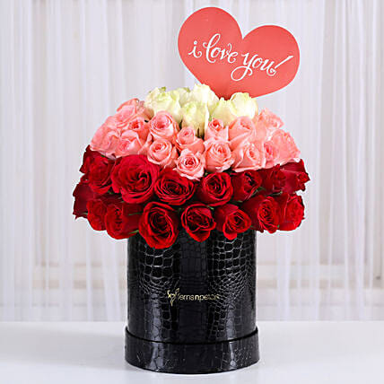 combo of 3 roses arrangement for him