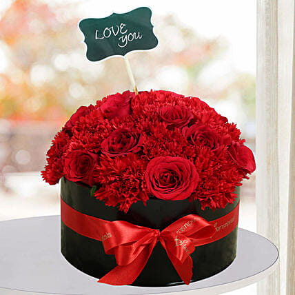Decorative Red Roses