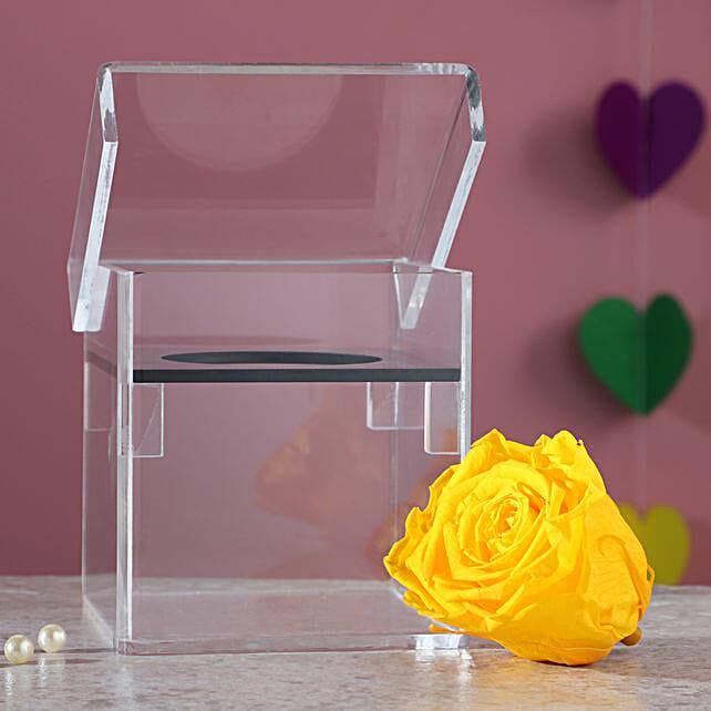 yellow infinity rose online
