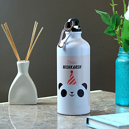 cute panda printed bottle