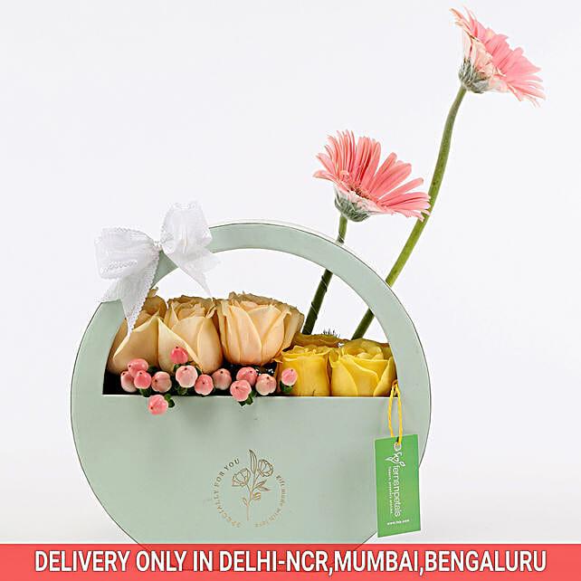 Online Gerbera & Rose Box