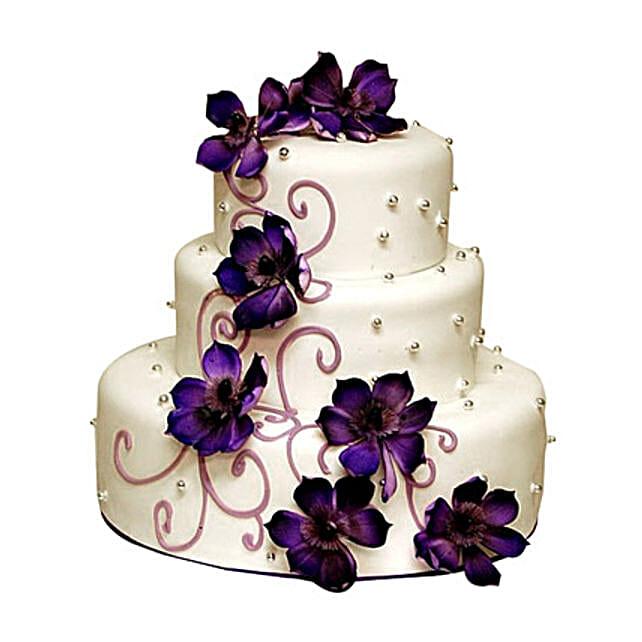 Glamorous Wedding Cake 5kg