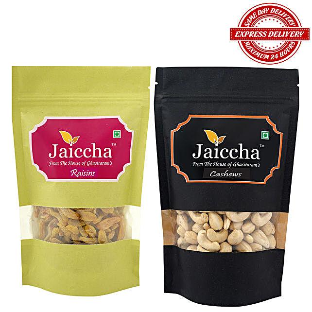 Goan Cashews n Indian Raisins