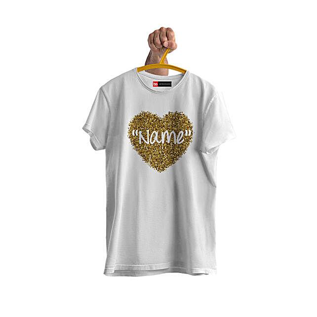 personalised tshirt for female friend birthday