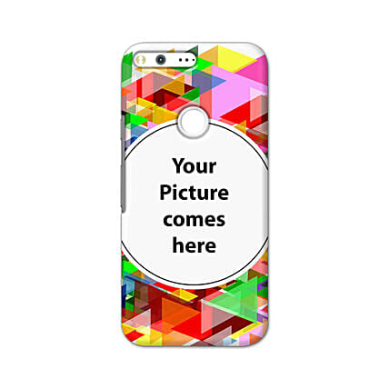 Google Pixel XL Multicolor Personalised Phone Cover