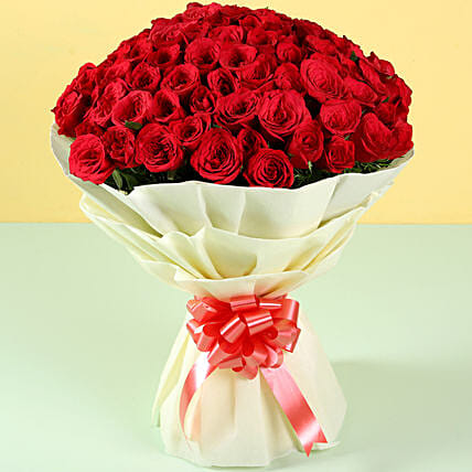 Bunch of Roses Bouquet Online