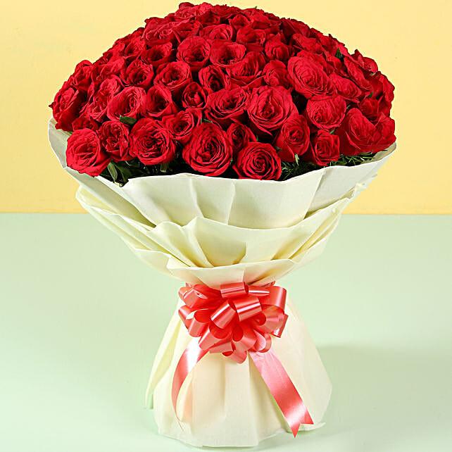 Bunch of Roses Bouquet Online