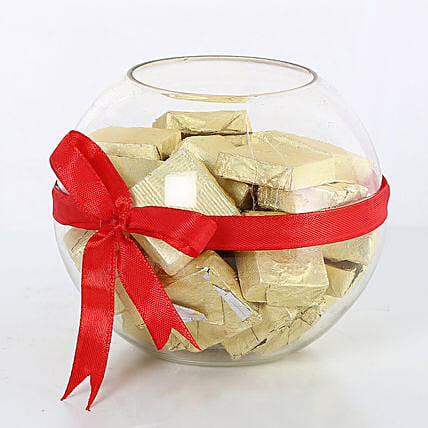 Handmade Chocolates wrapped with red ribbon chocolates choclates