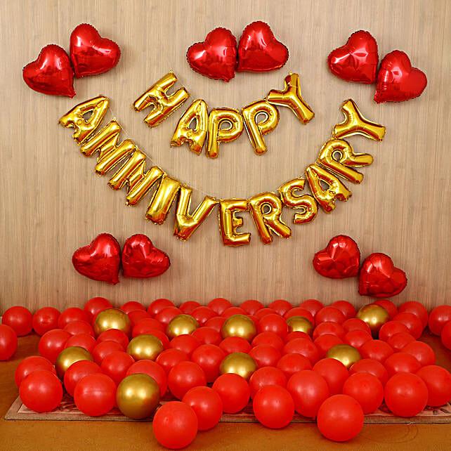 Happy Anniversary Surprise Décor