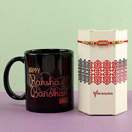 Rakhi and Mug for Bhai Online