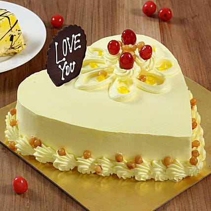 online customized heart shape cake