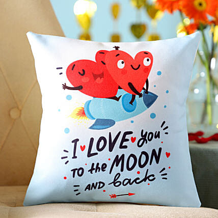 Online Hearts Cushion