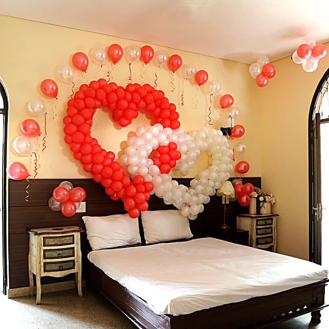 Online Valentine's Day Hearty Decoration
