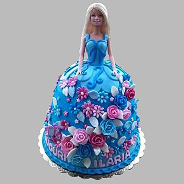Frozen Barbie Cake 2kg