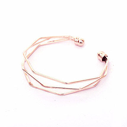 Layered Wrist Cuff For Women