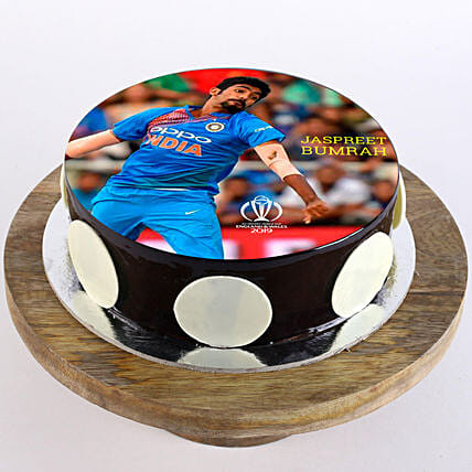 sports player photo cake online