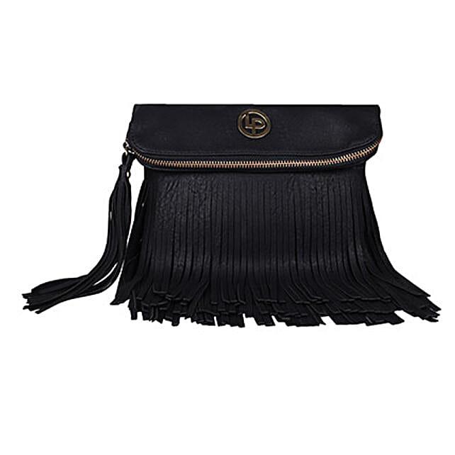 Stylish Black Color Handbag