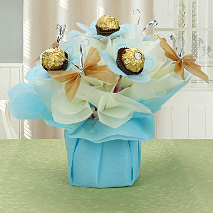 Rocher Chocolate arrangement