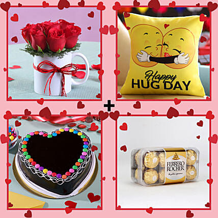 Online Magical Gift Combo For Hug Day