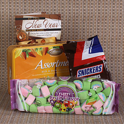 Marshmallow Candy Hamper For Kids
