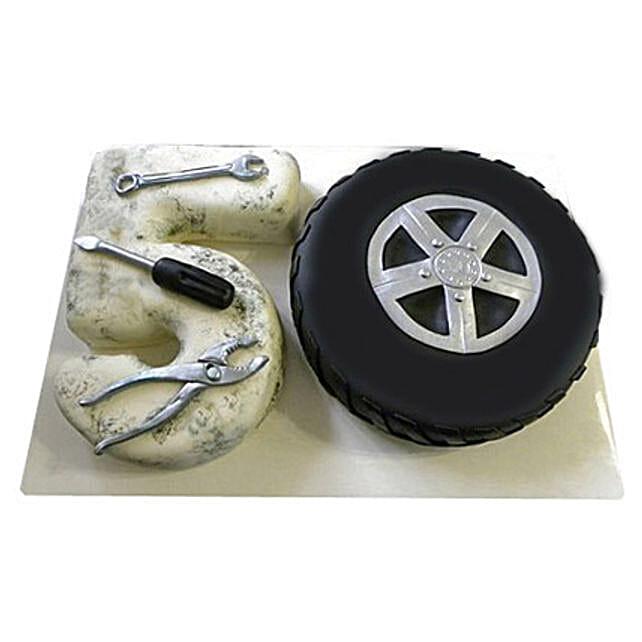 Number 50 Fondant Cake 4kg