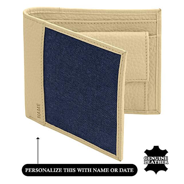 Online Men's Bi-Fold Wallet