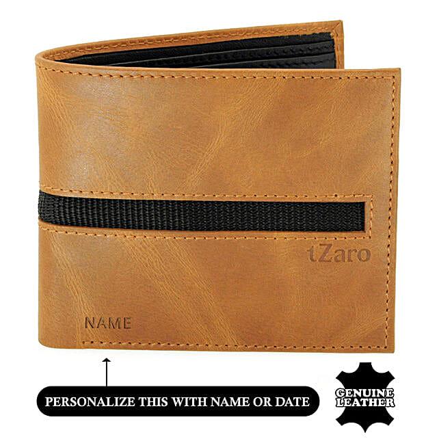 Online Black Bi-Fold Black Wallet