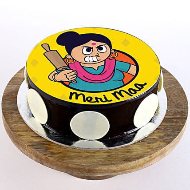 Custom Chocolate cake for mom