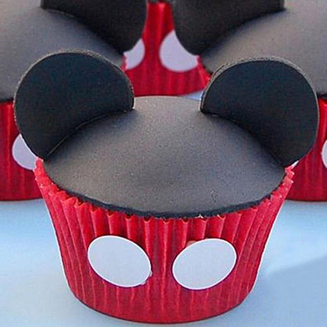 Cute Minnie Cupcake for Kids6