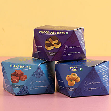 Mini Boxes Of Sweets
