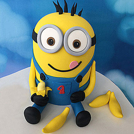 Despicable Me 3d Cartoon Cake 2kg