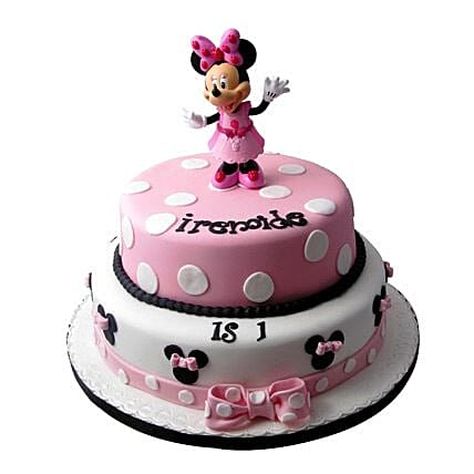 Minnie Mouse Birthday Cake 3kg
