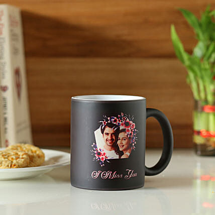 Online Miss You Personalised Magic Mug