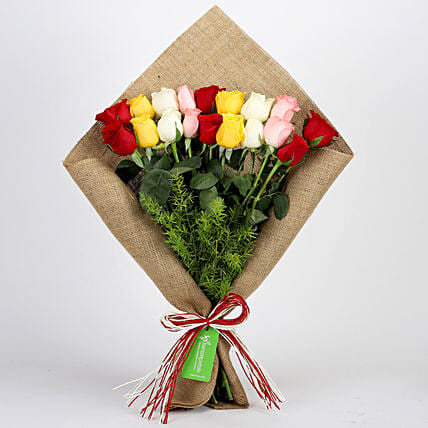 Mixed Roses Bouquet Online