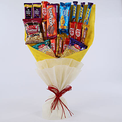 Chocolate and Chip Bouquet chocolates