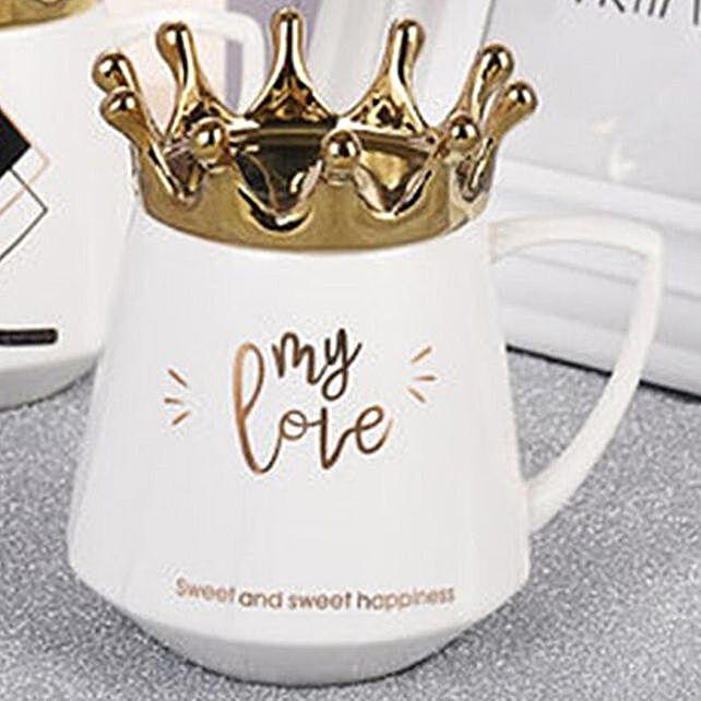 Online My Love Crown Coffee Mug