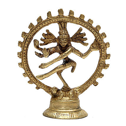 Natraj Brass Idol-visually appealing and brings a lot of spiritual feeling in the house