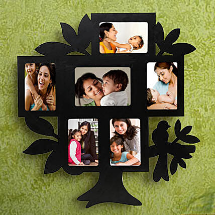 Nurturing Love Personalized Frame-1 personalized tree shaped 6 in 1 photo frame,sizes of all frame:1(35x55),2	(55x35),3 (45x65),4(55x35),5(55x35),6(55x35)