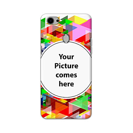 Oppo F7 Multicolor Personalised Phone Cover