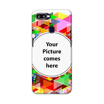 Oppo F9 Multicolor Personalised Phone Cover