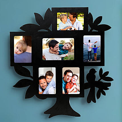 Personalized tree shaped frame