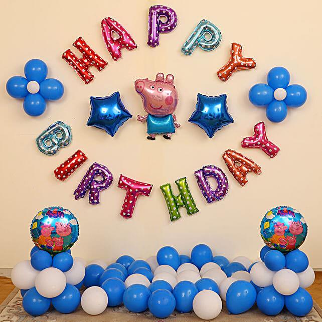 Kids Balloon Decoration for Birthday Online