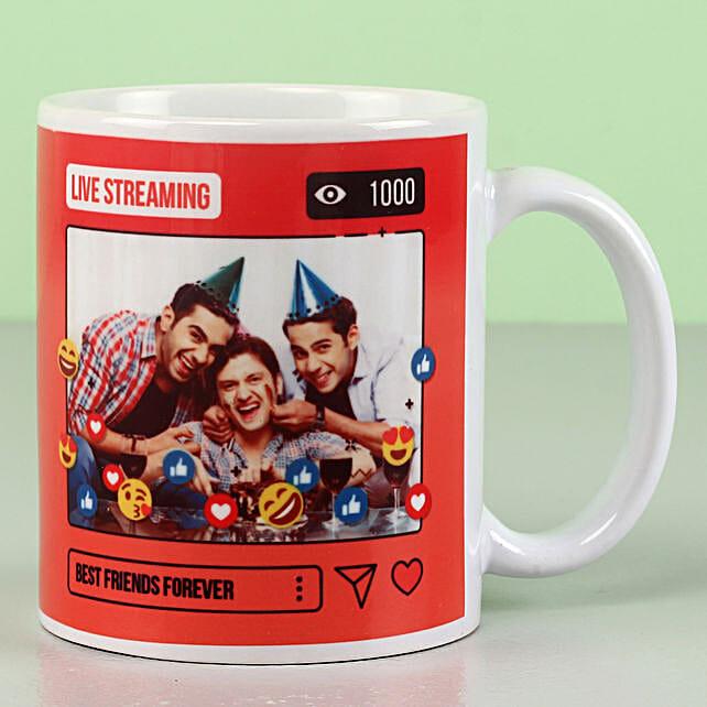 custom coffee mug for friend