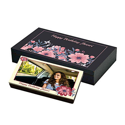 photo chocolate bar for her online