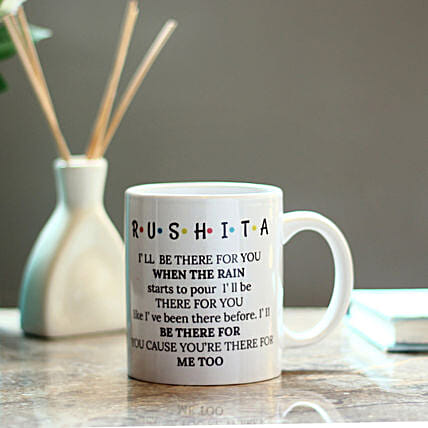 lovely printed mug