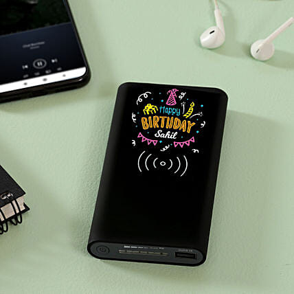 Printed Power Bank for Birthday